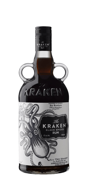 Black Kraken spiced rum is blended from Trinidad rum and mixed with 11 different spices.